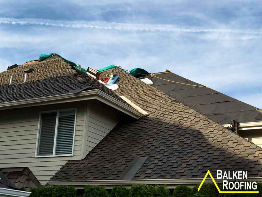 IAQ Problems During a Roof Project