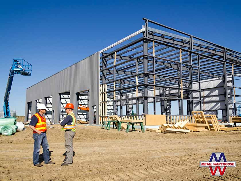steel buildings contractor