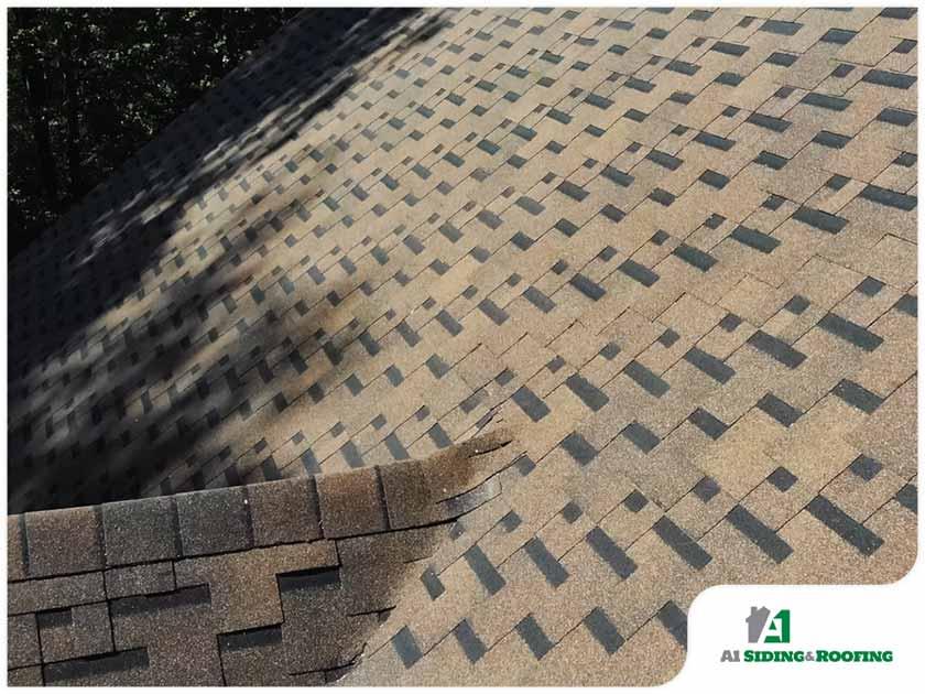 neutral color asphalt shingle roof residential roofing