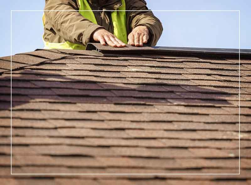 roofer doing repairs