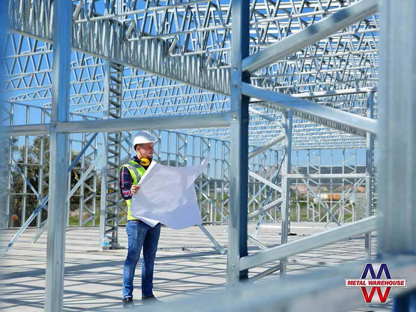 Starting Steel Building Construction