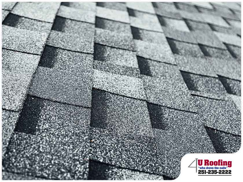 asphalt shingle close up residential roofing