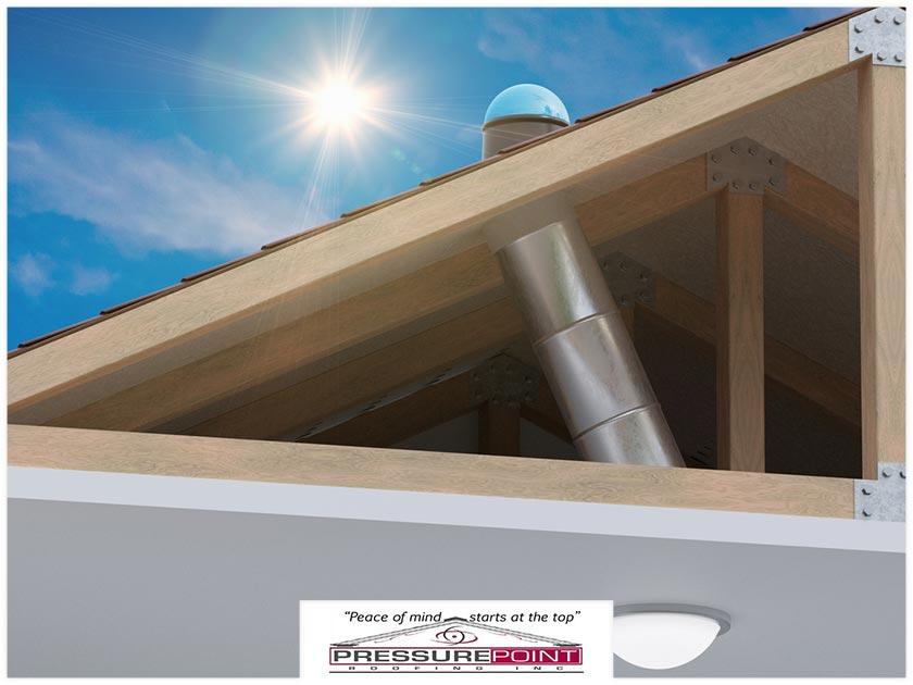 skylights vs. solar tubes