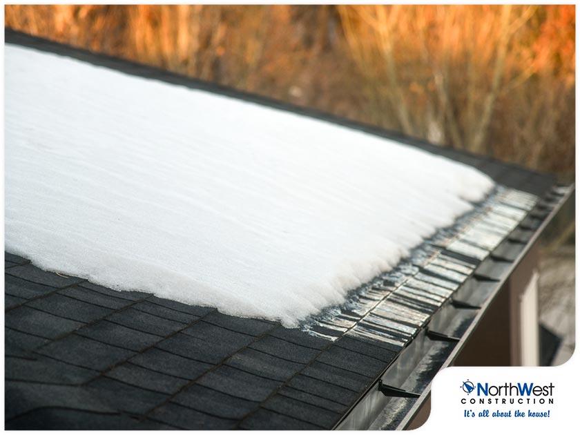 roof snow damage
