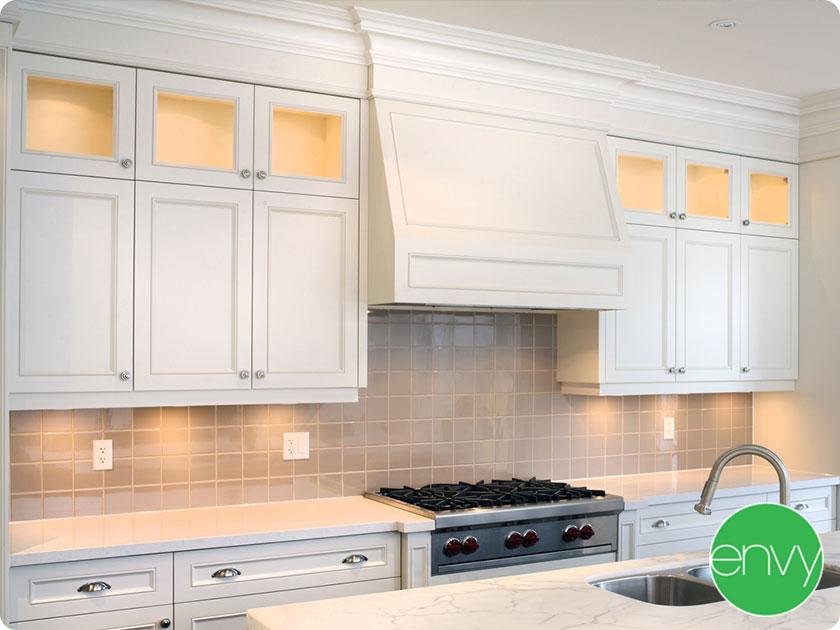 kitchen upper cabinet base cabinet countertop backsplash cooktop kitchen contractors