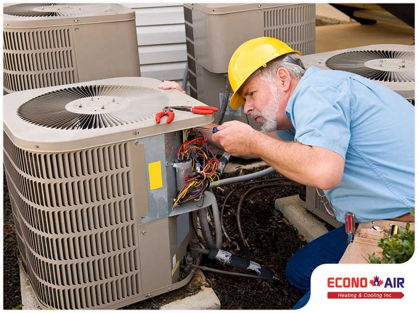 AC capacitor failure