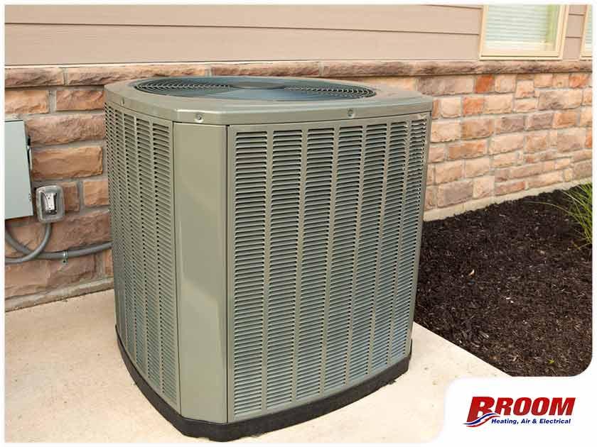 heat pump compressor outdoor unit HVAC replacement