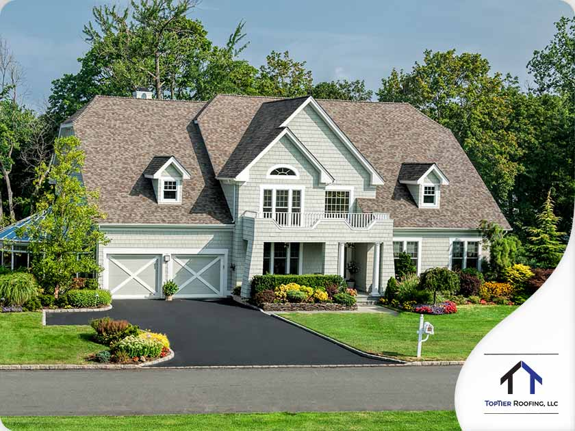 beautiful asphalt shingle roof