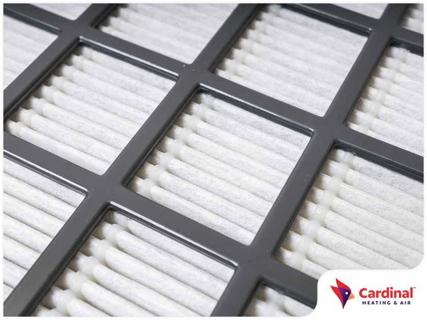 HVAC maintenance air filter