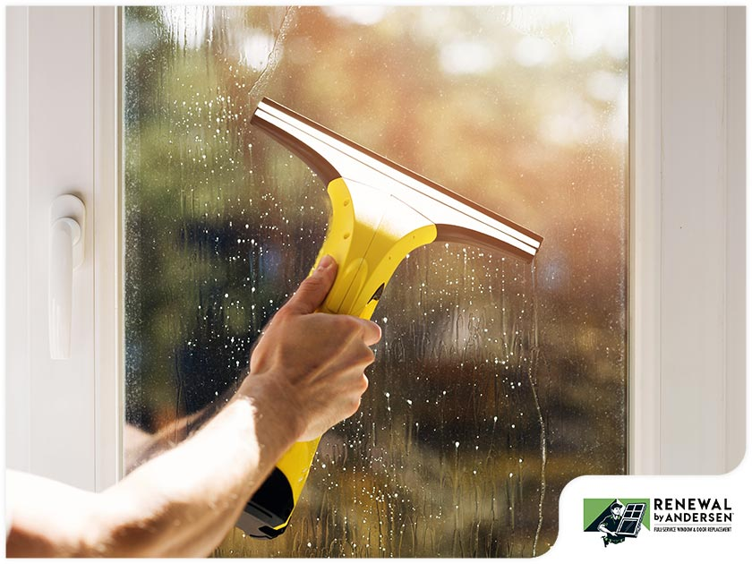 Handy Fall Window Cleaning