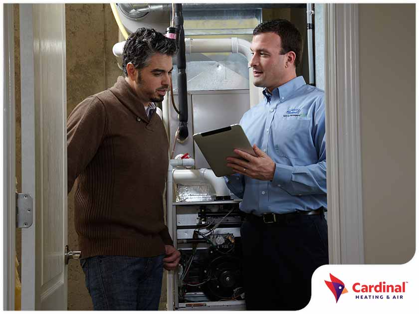 indoor air quality furnace installation