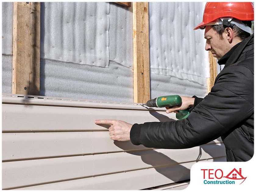 siding contractors exterior wall plank siding installation