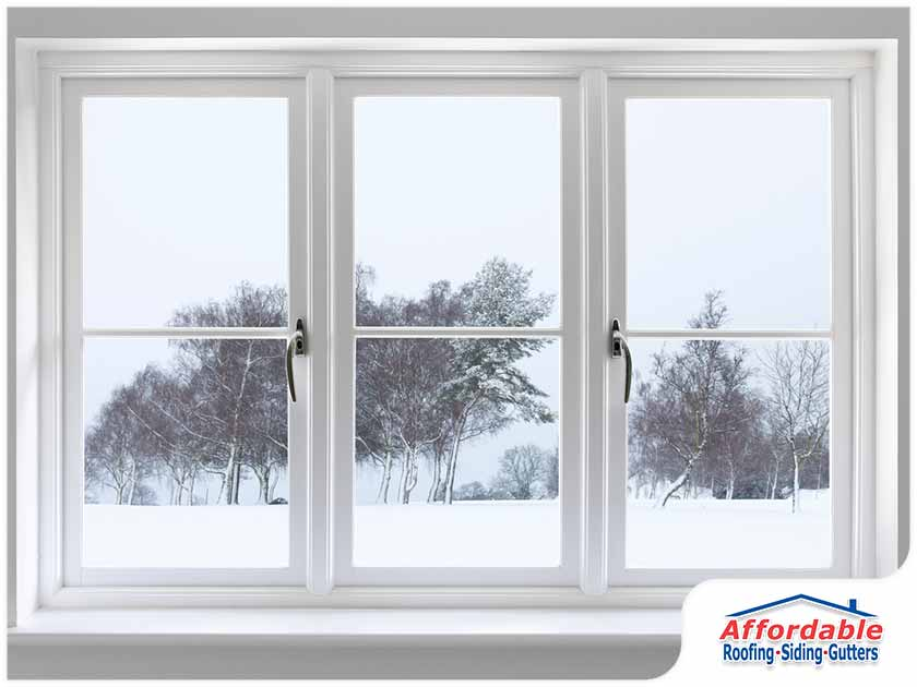 winter, window replacement