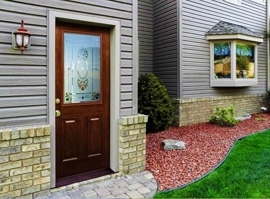 signet fiberglass entry door