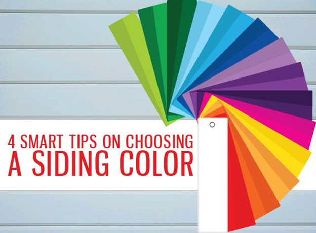 4 Smart Tips On Choosing A Siding Color Replacement