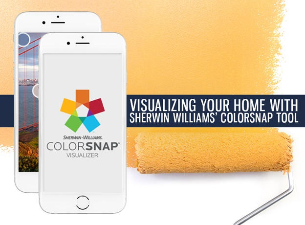 Visualizing Your Home with Sherwin Williams' ColorSnap Tool