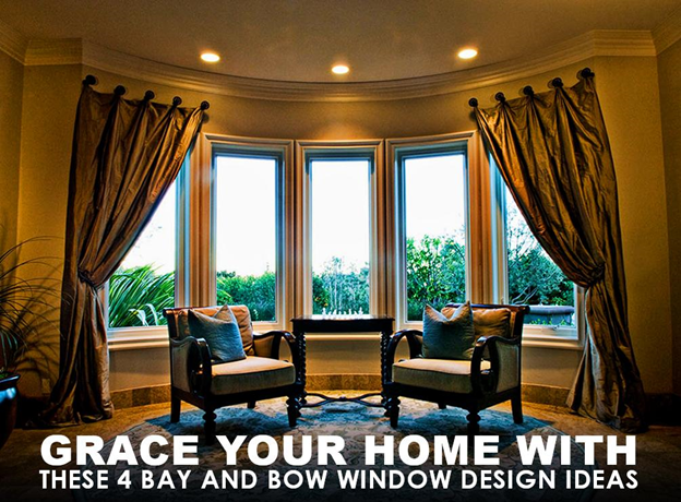 Grace Your Home with These 4 Bay and Bow Window Design Ideas