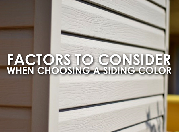 Choosing a Siding Color