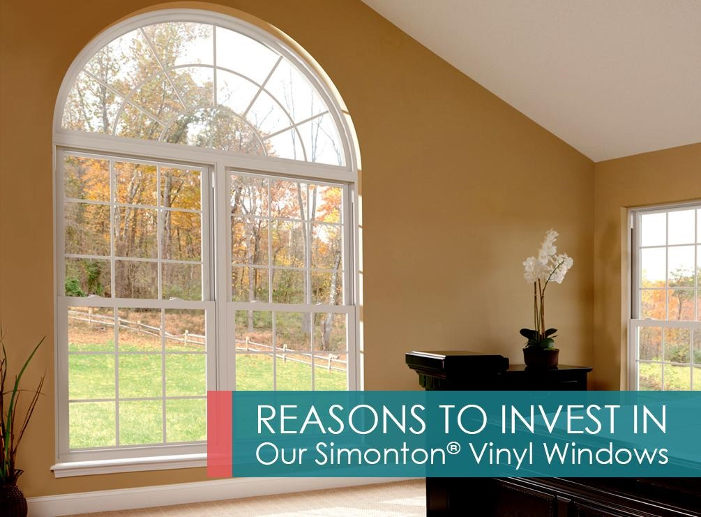 Top reasons to invest in our simonton vinyl windows for Who makes the best vinyl windows