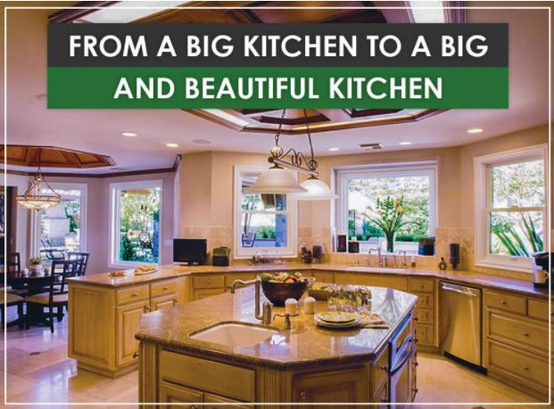 Big   and Beautiful Kitchen