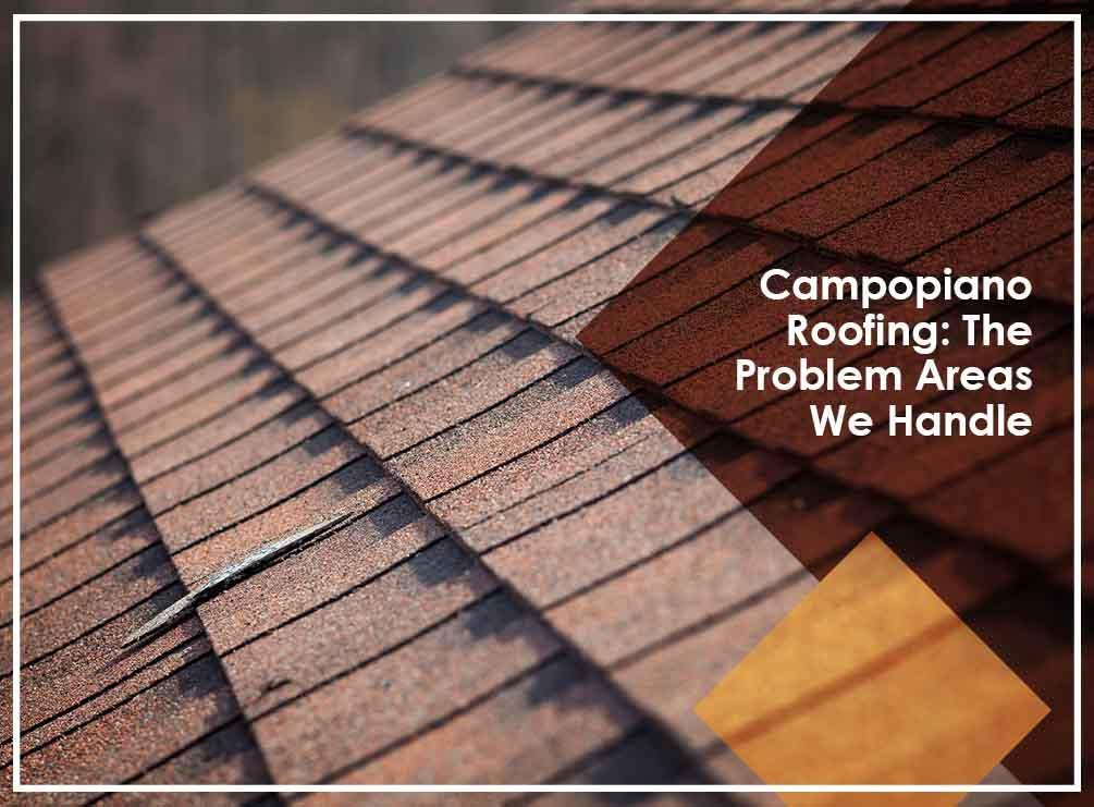 Campopiano Roofing: The Problem Areas We Handle