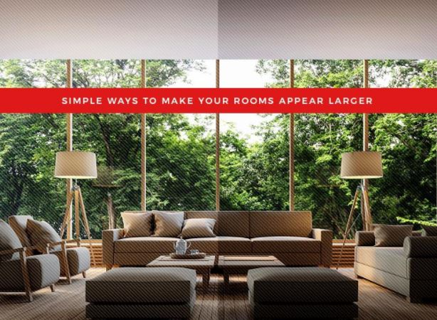 Make Your Rooms Appear Larger