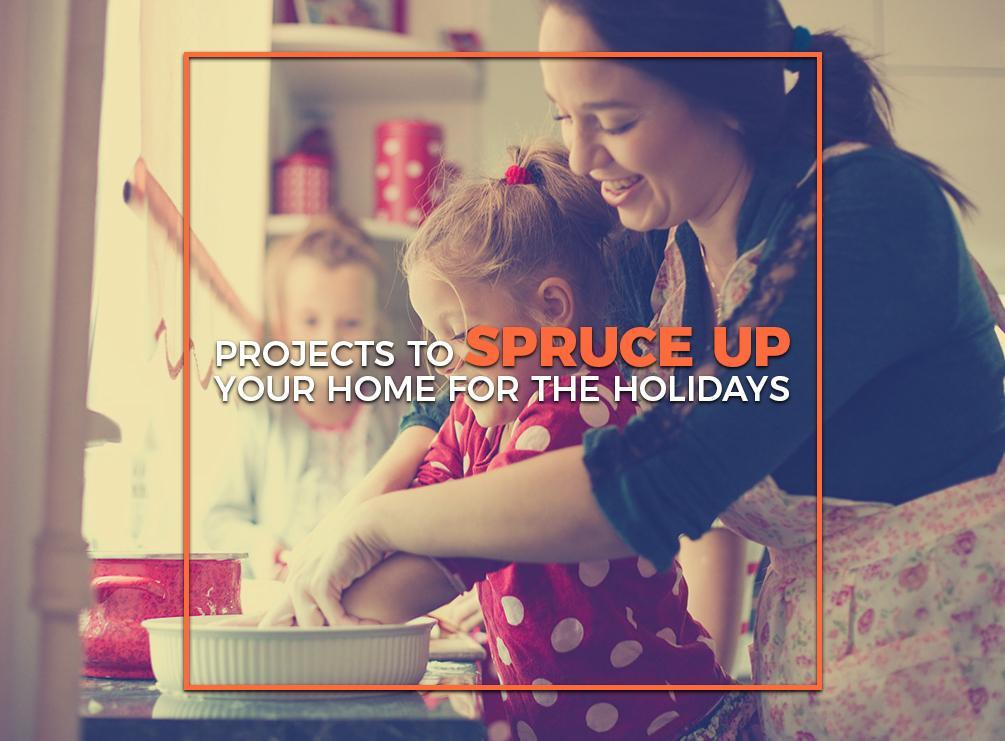 Projects to Spruce Up Your Home for the Holidays