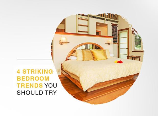 Striking Bedroom Trends