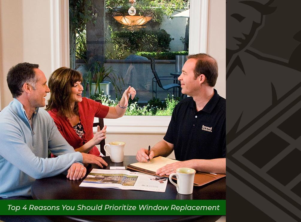 Top 4 Reasons You Should Prioritize Window Replacement