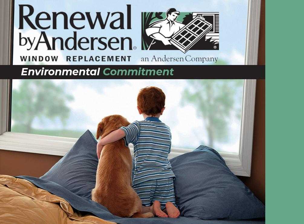 Renewal by Andersen®'s Environmental Commitment
