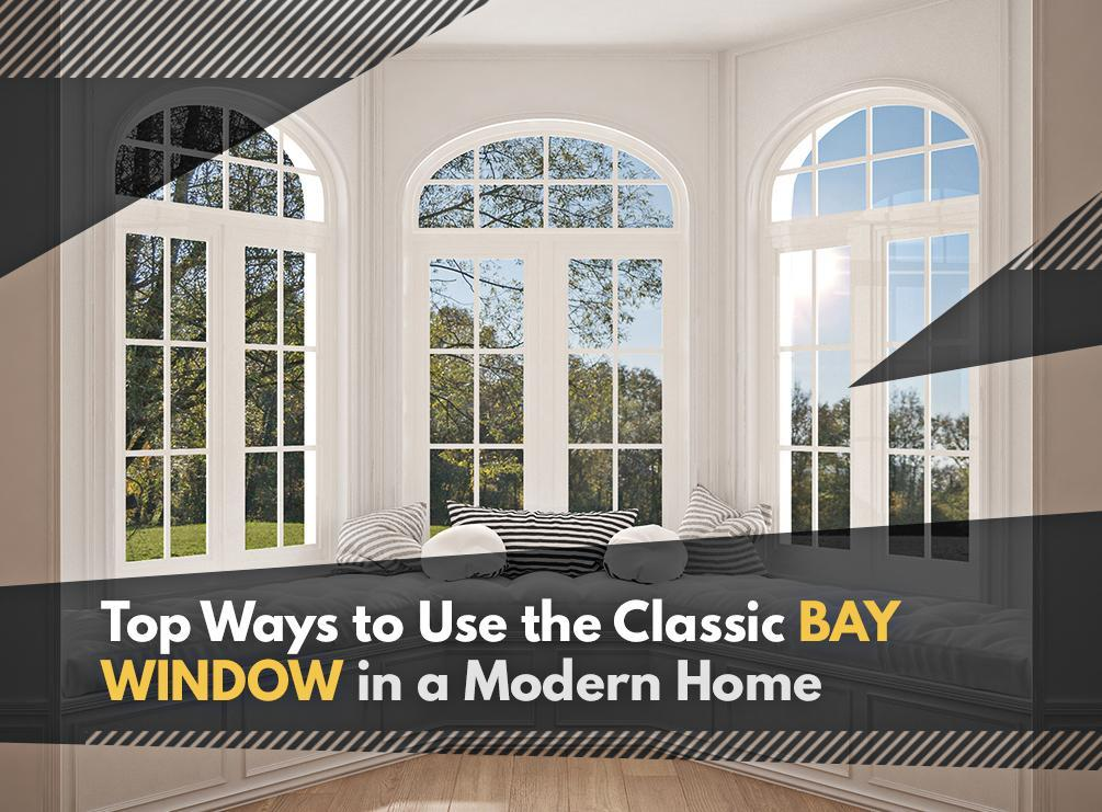 Classic Bay WIndow in a Modern Home