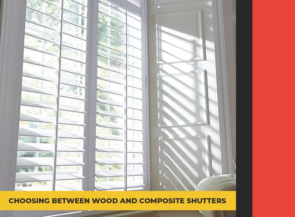 Choosing Between Wood and Composite Shutters