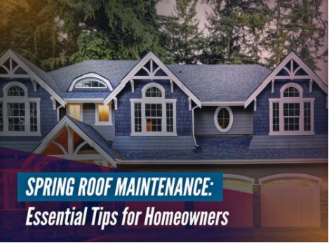 Spring Roof Maintenance