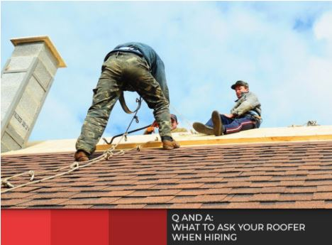 Hiring Roofer
