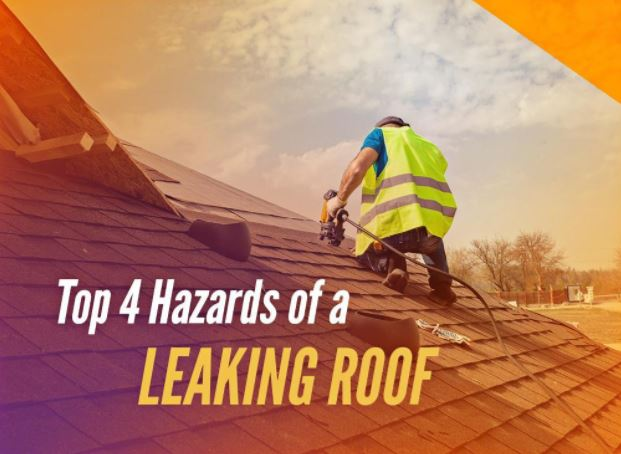 Top 4 Hazards of a Leaking Roof
