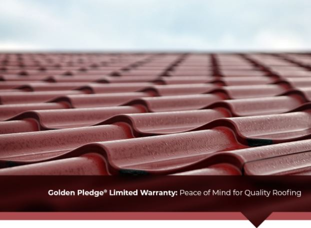 Golden Pledge® Limited Warranty: Peace of Mind for Quality Roofing