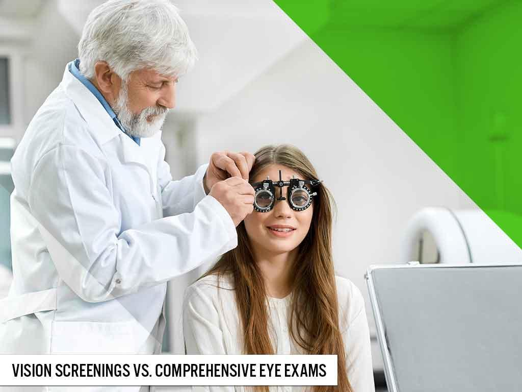 Vision Screenings vs. Comprehensive Eye Exams