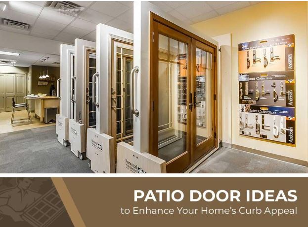 Patio Door Ideas to Enhance Your Home's Curb Appeal