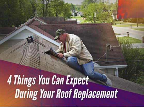 4 Things You Can Expect During Your Roof Replacement