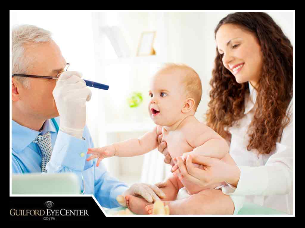The 6 Steps of an Infant or Toddler Eye Exam