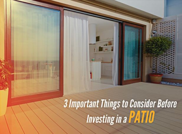 Investing in a Patio