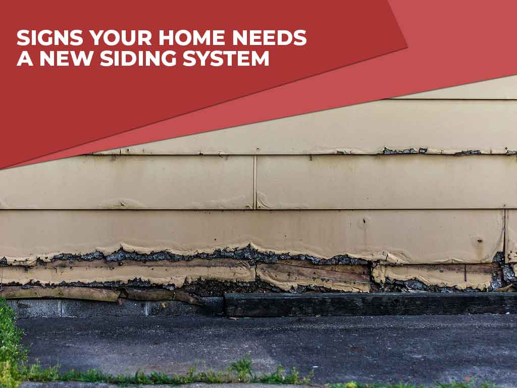 Signs Your Home Needs a New Siding System