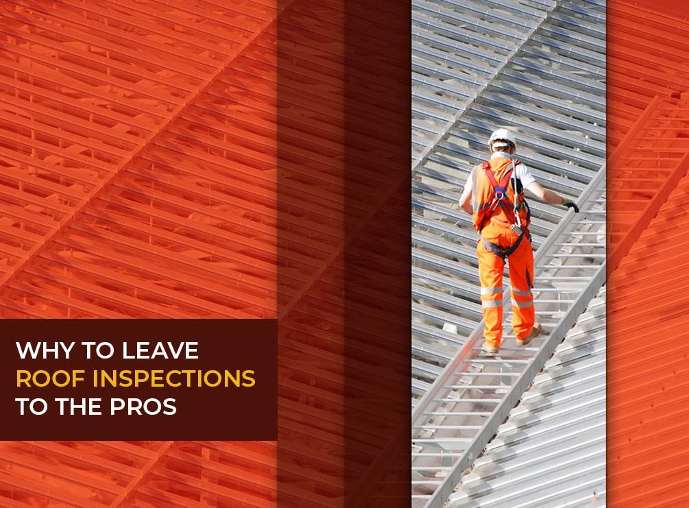 Why to Leave Roof Inspections to the Pros
