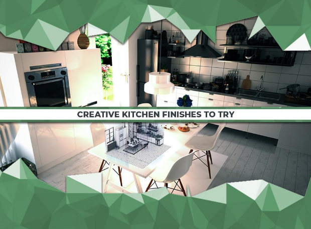 Creative Kitchen Finishes to Try