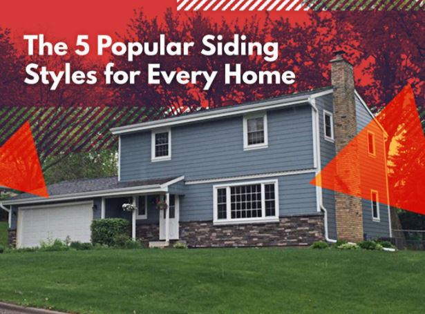 The 5 Popular Siding Styles for Every Home