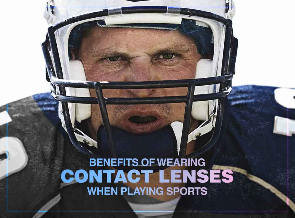 Benefits of Wearing Contact Lenses When Playing Sports