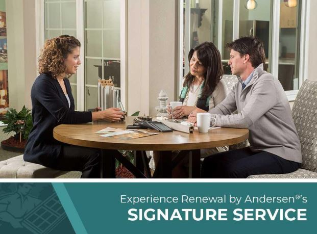 Experience Renewal by Andersen®'s Signature Service